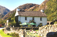Cottage near Coniston - copyright Charlie Hedley