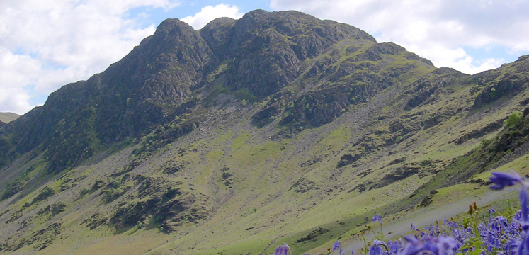 View of Haystacks fell near Buttermere copyright Michael Turner