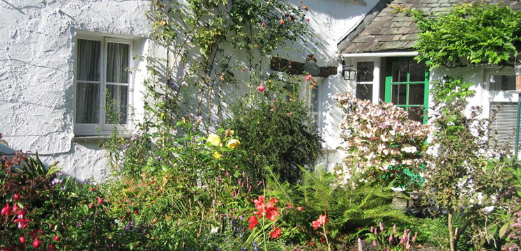 Cottage garden in Far Sawrey copyright LDNPA
