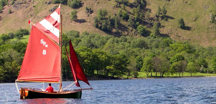 Sailing dinghy copyright Michael Turner
