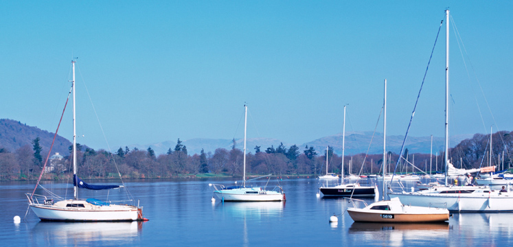 Boats on Windermere copyright LDNPA