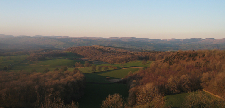 View from Scout Scar north to the fells copyright LDNPA