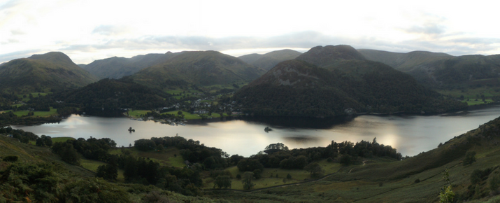 Evening walks in the Lake District