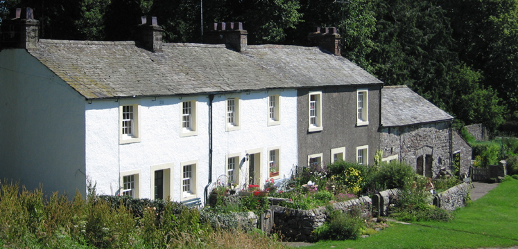 Row of cottages in Askham copyright Mr Hills
