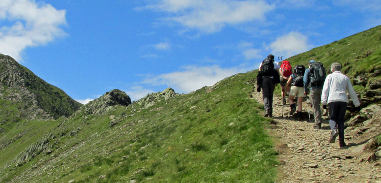 A guided walk to the summit of Catstycam