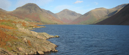 Shoreline of Wastwater