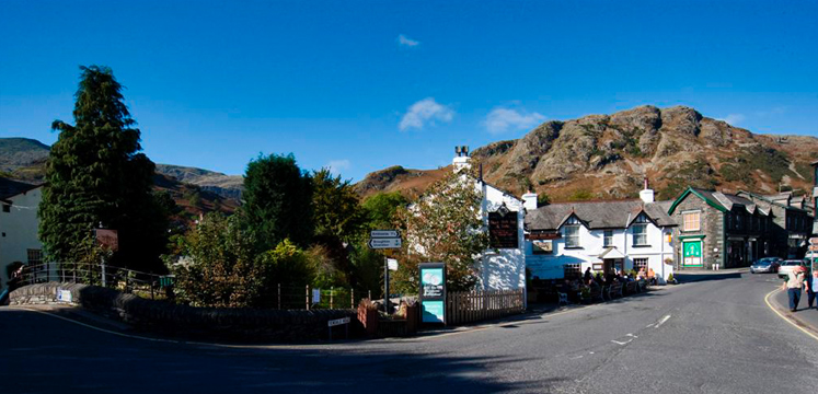 Coniston village copyright Charlie Hedley