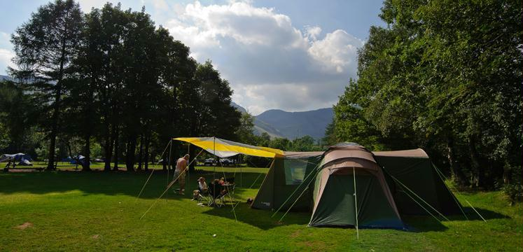 Camping in the Lake District copyright Dave Willis