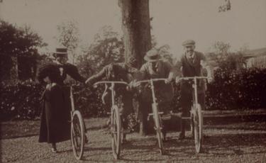 Bicycles at Brockhole - copyright LDNPA