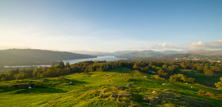 Windermere from Brant Fell copyright Dave Willis