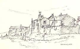 Sketch of Ravenglass copyright Sue Thompson