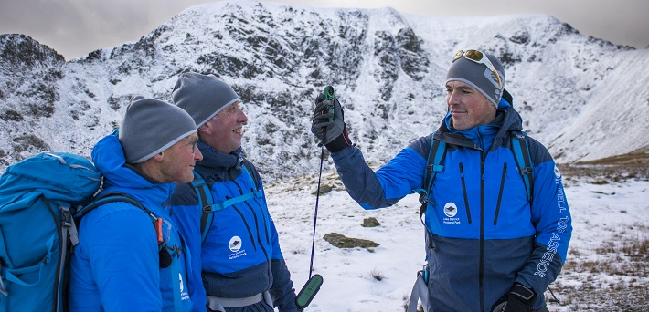 Fell Top Assessors reporting on the winter weather conditions on Helvellyn