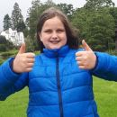 Katie, age 11, from Cockermouth gave this weekend's Brockhole experience a resounding thumbs up.