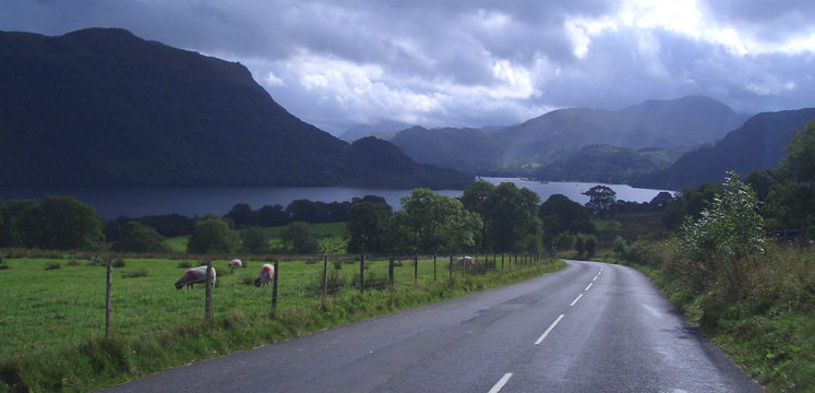 Road from Dockray towards Ullswater copyright Paul Reynolds