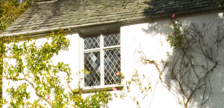 Detail of Dove Cottage in Grasmere copyright Dave Willis