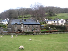 Cottages in Near Sawrey