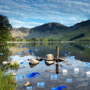 Plastic Waste in Buttermere.