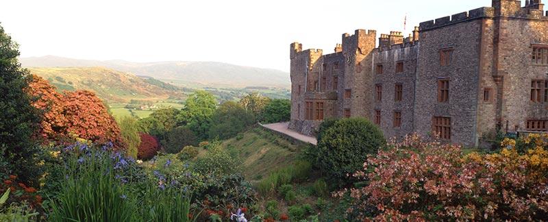 Muncaster House and gardens