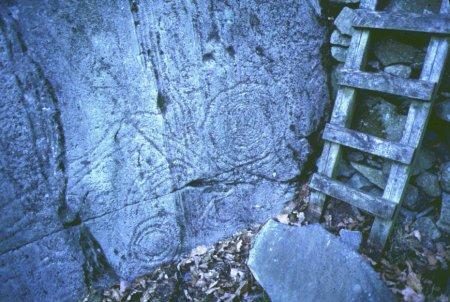 Copt Howe rock carvings in the Langdale valley copyright LDNPA