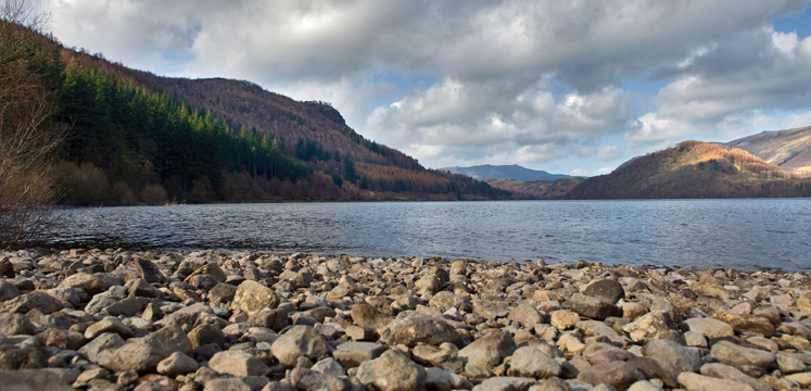 View of Thirlmere from Armboth copyright Charlie Hedley