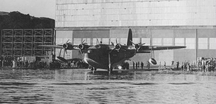 First Windermere-built Sunderland flying boat copyright Peter Greetham via Allan King
