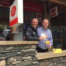 Richard Leafe and Gordon Aylmore Bowness Post Office LD pound.