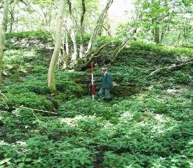 surveying Cunsey Beck - image