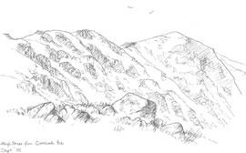 Sketch of High Street copyright Sue Thompson
