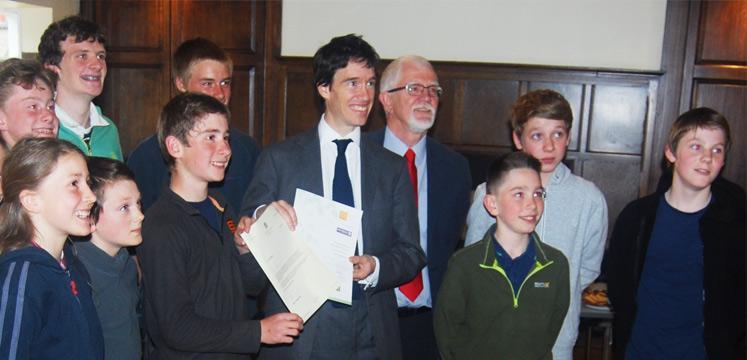 John Muir award presented