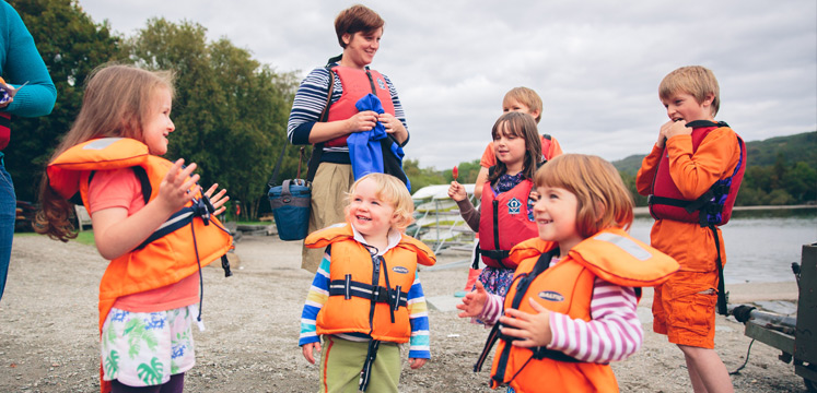 Family activities in the lake district