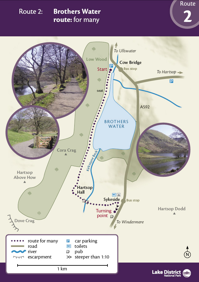 Map - Brothers Water route
