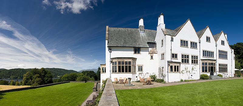 Blackwell House on the shore of Windermere