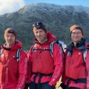 The LAke Districts three Fell Top Assessors at teh launch of teh IWnter season 2019