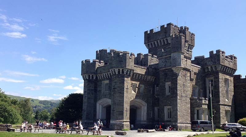 Wray Castle family place to visit