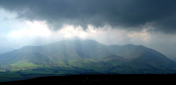 Storm brewing over Skiddaw copyright Michael Turner