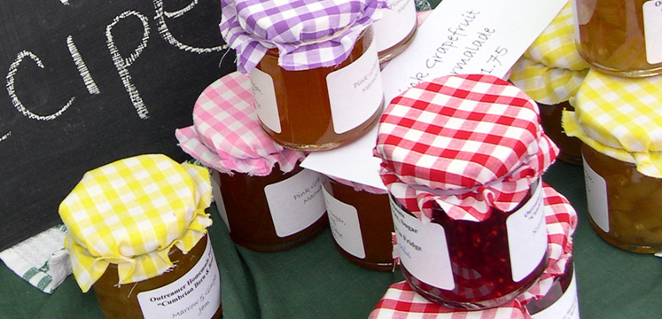 Jams and preserves for sale copyright Michael Turner