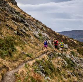 runners on the Ullswater Way