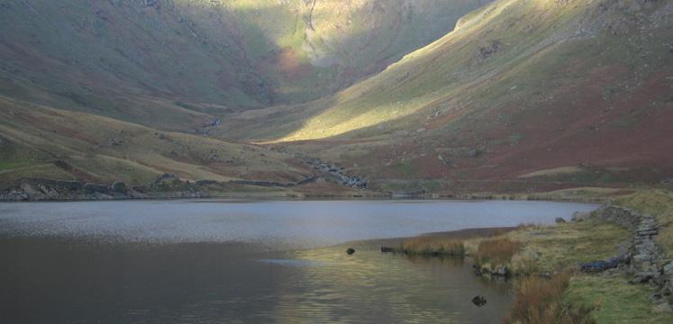 View of Kentmere reservoir copyright Steve Pighills