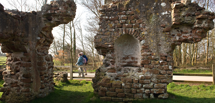 Roman ruins at Walls Castle, Ravenglass copyright Charlie Hedley