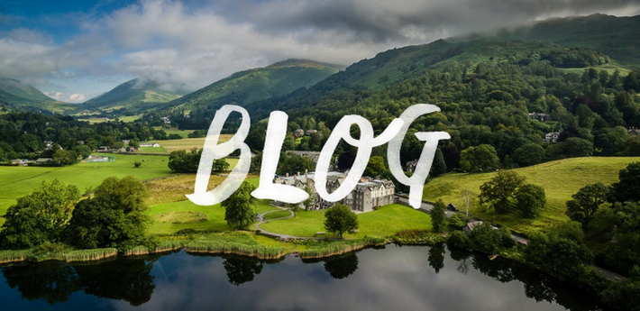 The Daffodil hotel beside stunning Lake District hills
