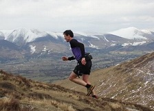 Steve Birkinshaw fell running.