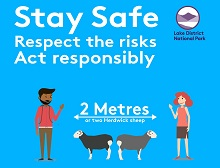 Stay safe infographic