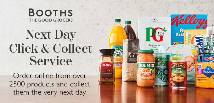 Booths Next Day Click and Collect