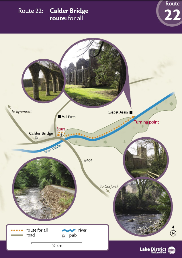 Map - Calder Bridge route