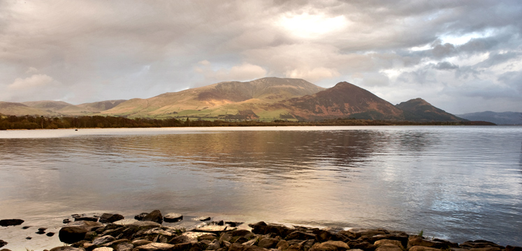 View of Bassenthwaite from Dubwath copyright Charlie Hedley