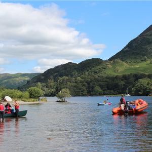 Boats on Ullswater