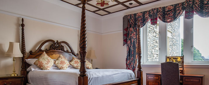 Cosy bedroom at the Langdale Chase