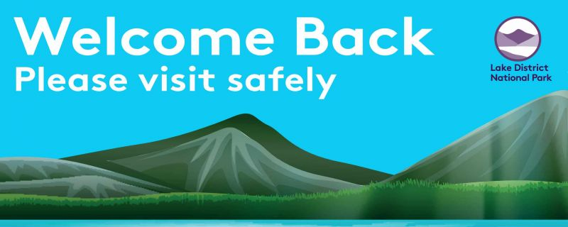 Welcome Back - Please Visit Safely