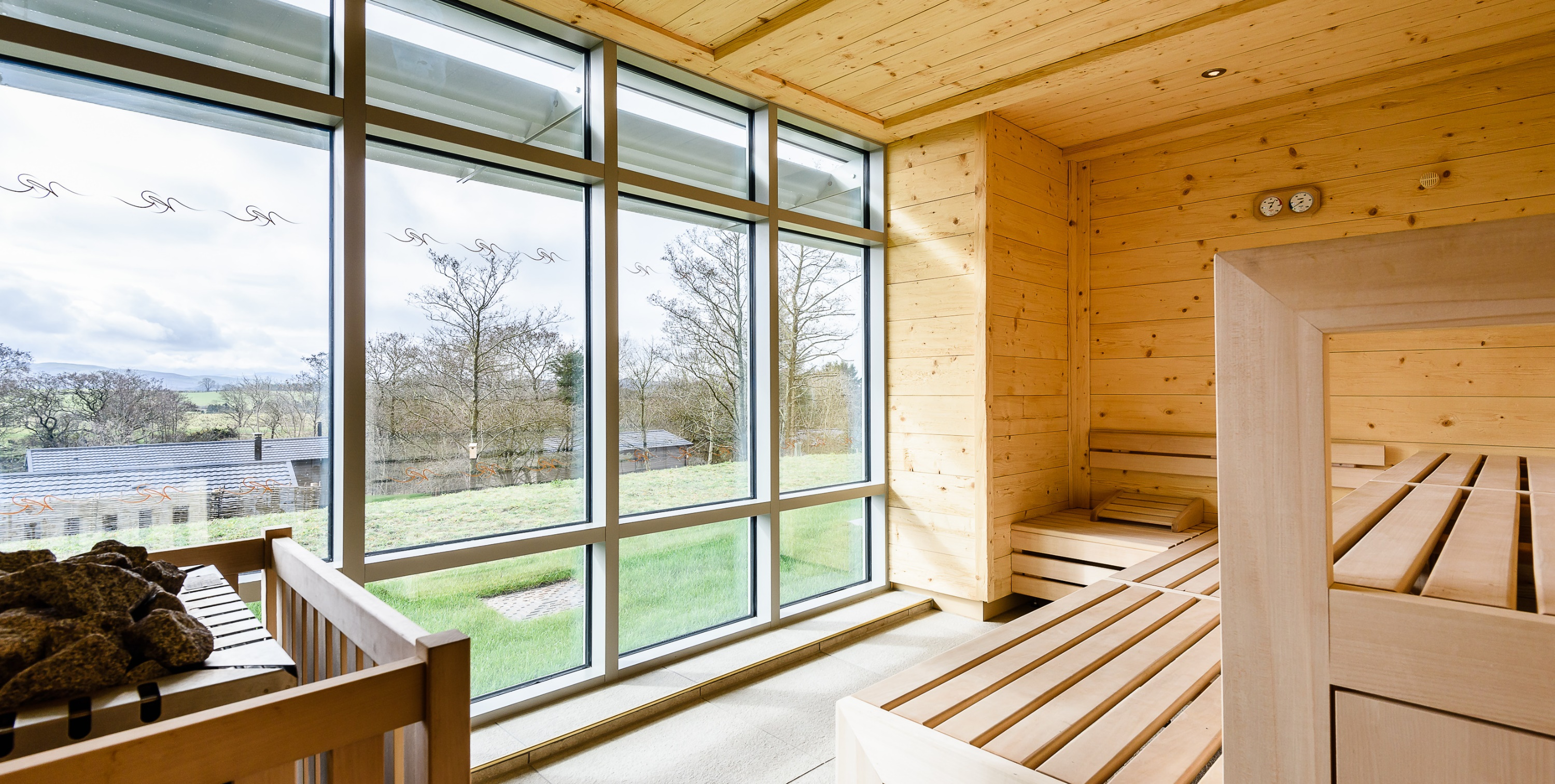 Panoramic Sauna at Keswick Reach
