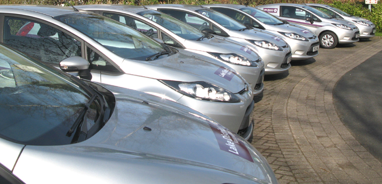 Our fleet of reduced carbon cars copyright LDNPA